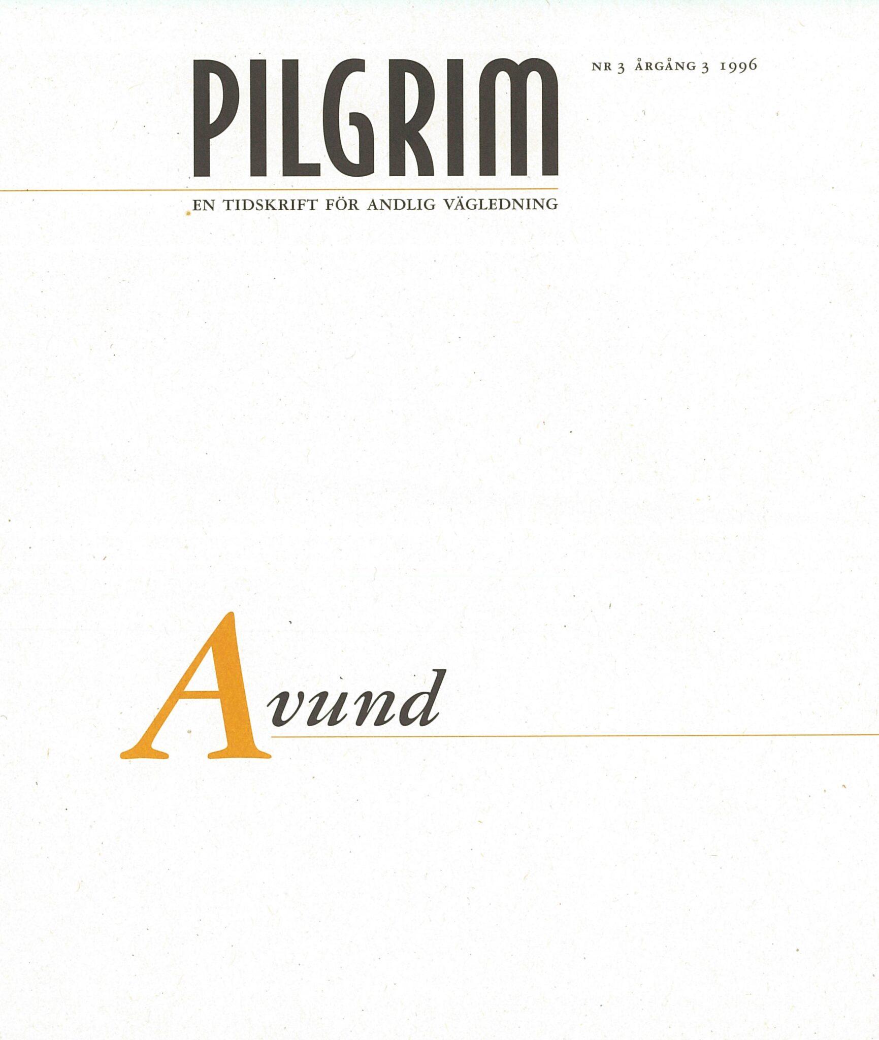 Pilgrim frams 1996-3