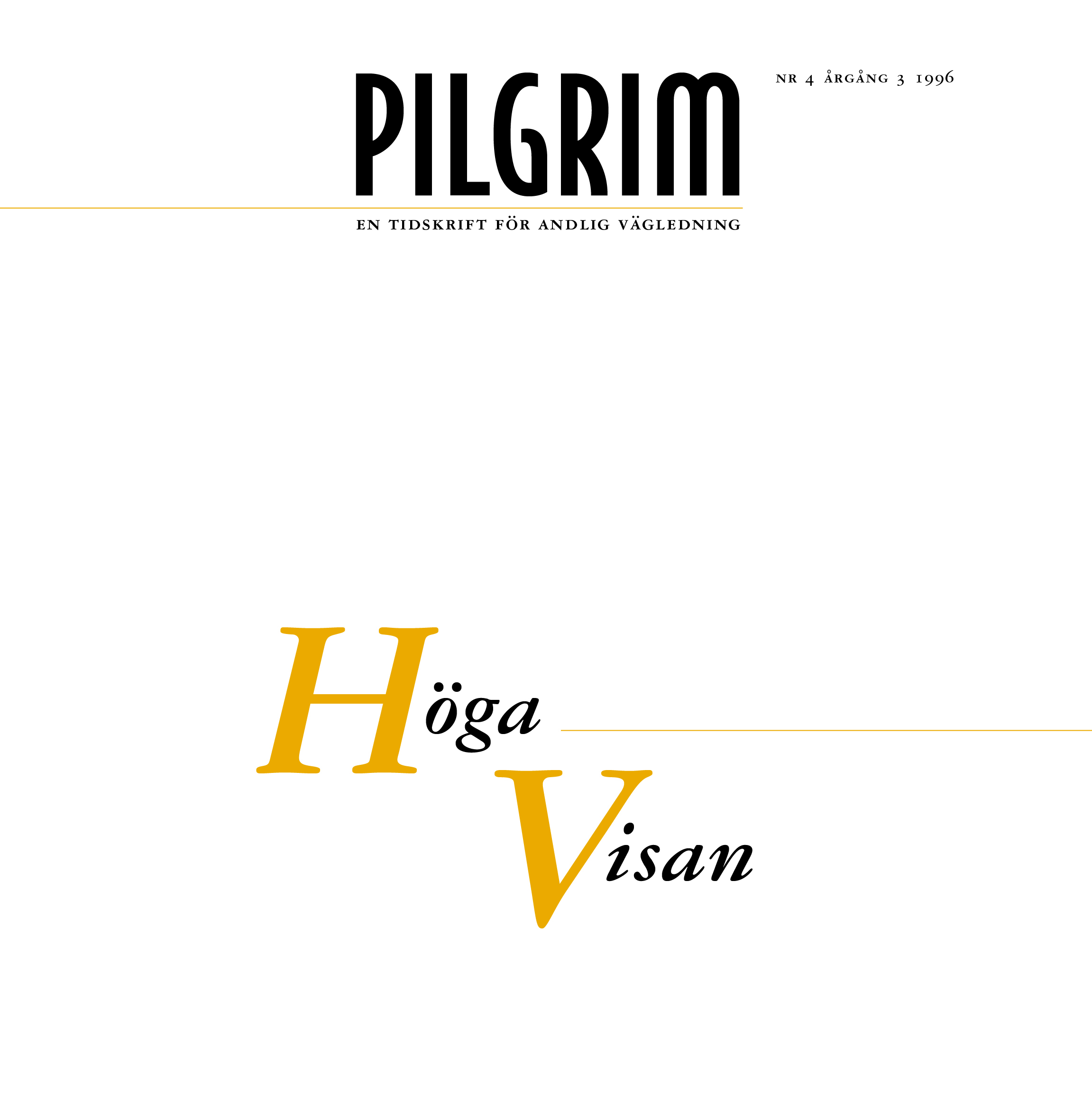Pilgrim frams 1996-4