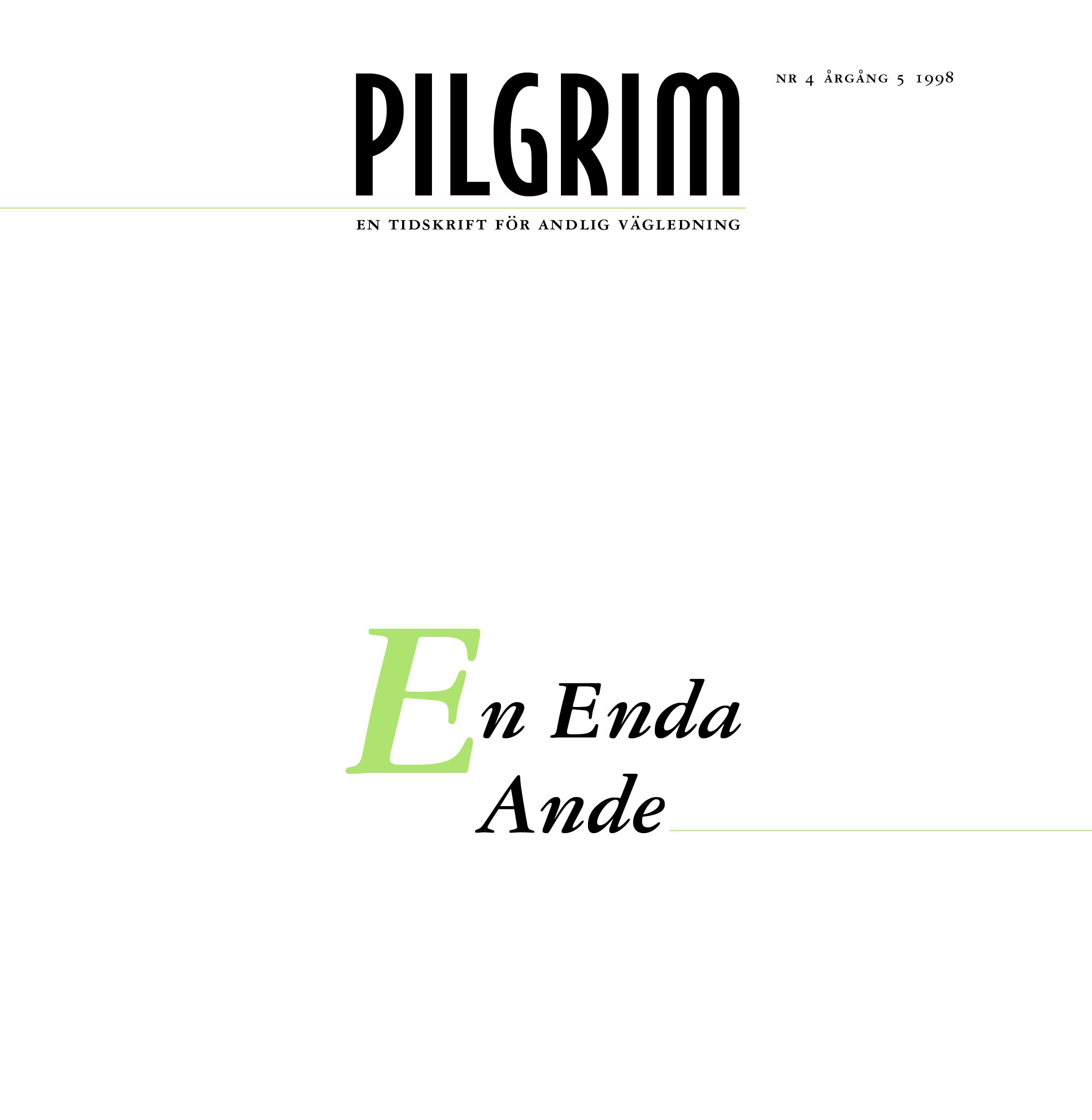 Pilgrim frams 1998-4