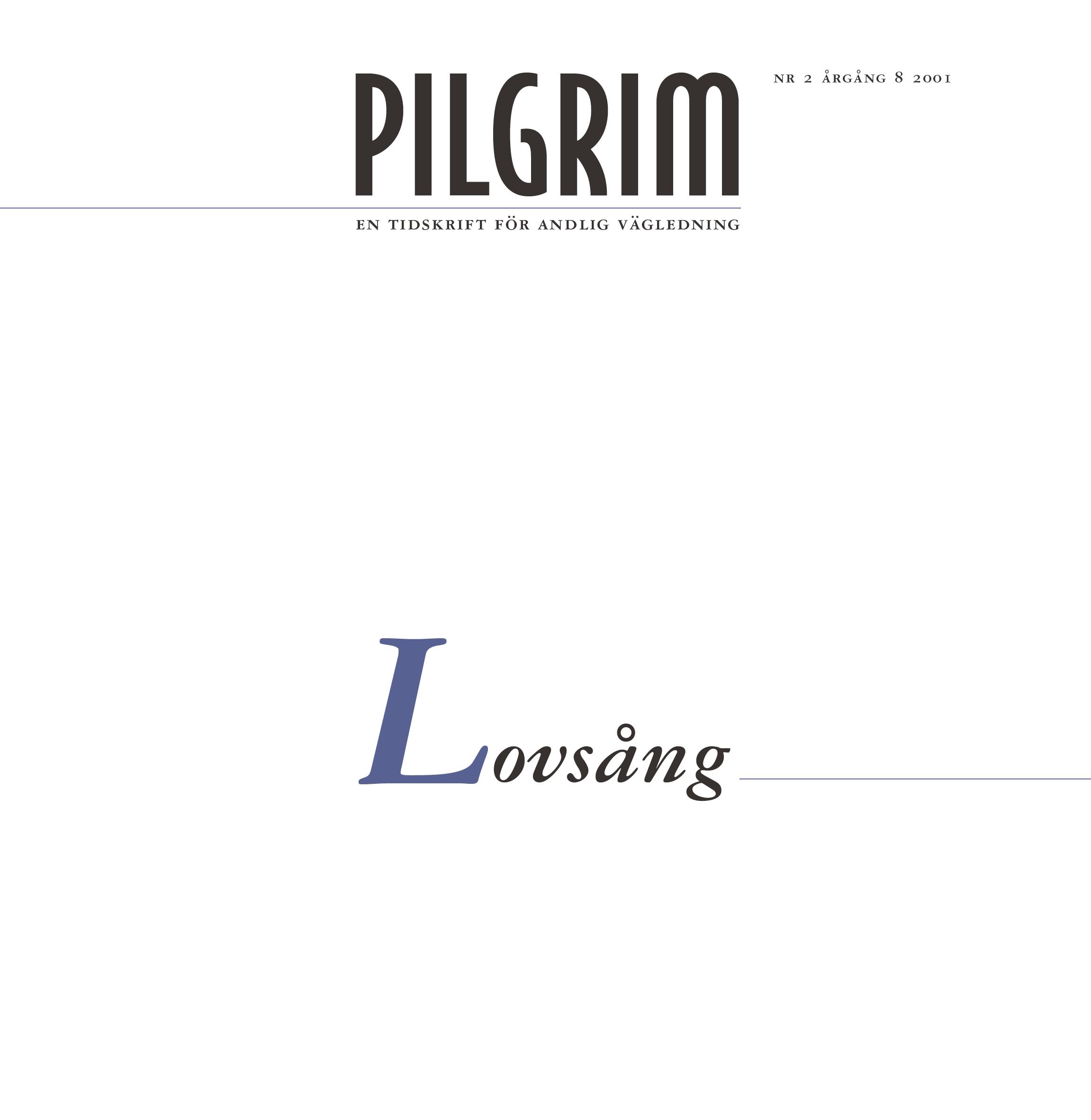 Pilgrim frams 2001-2