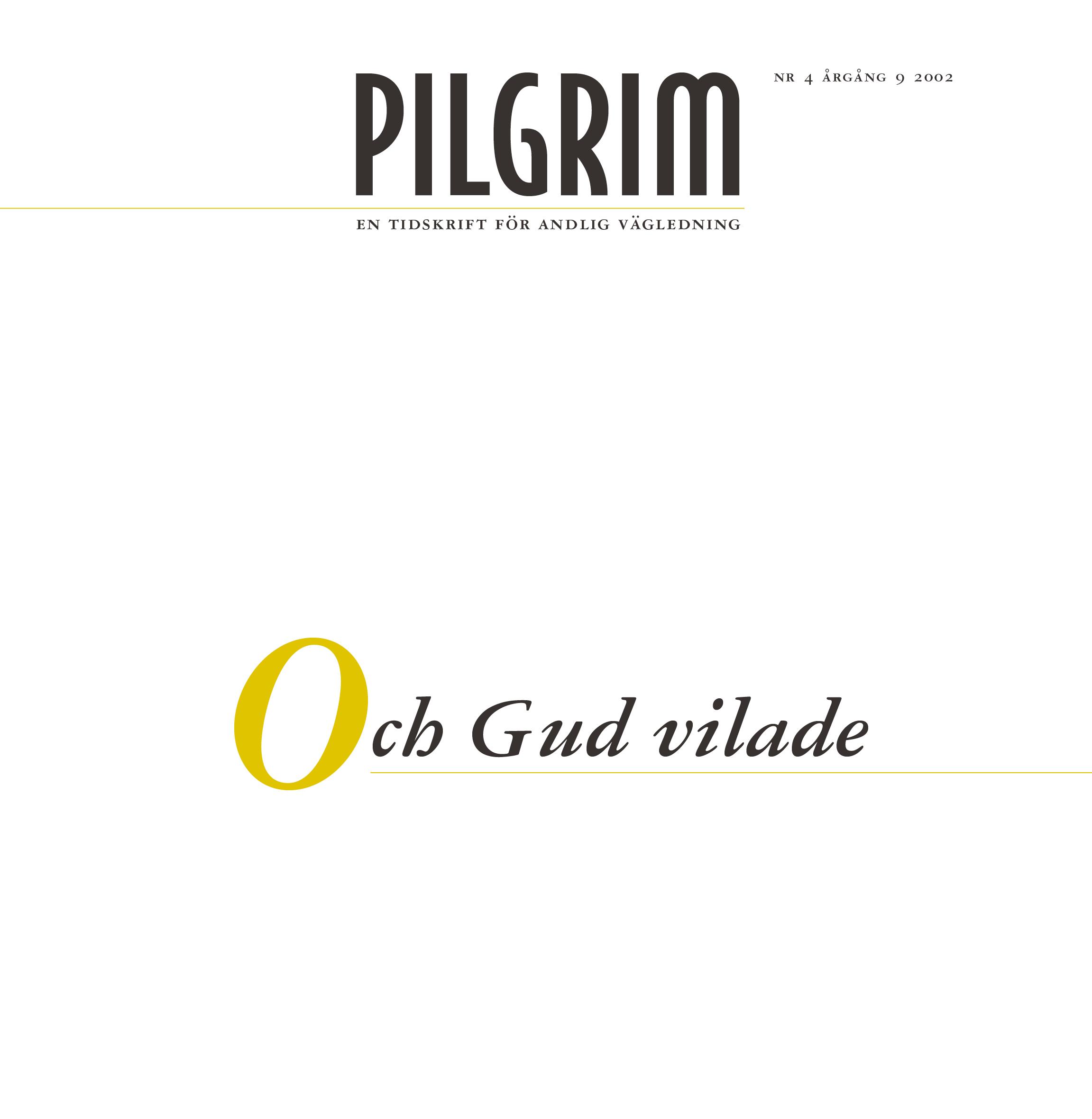 Pilgrim frams 2002-4
