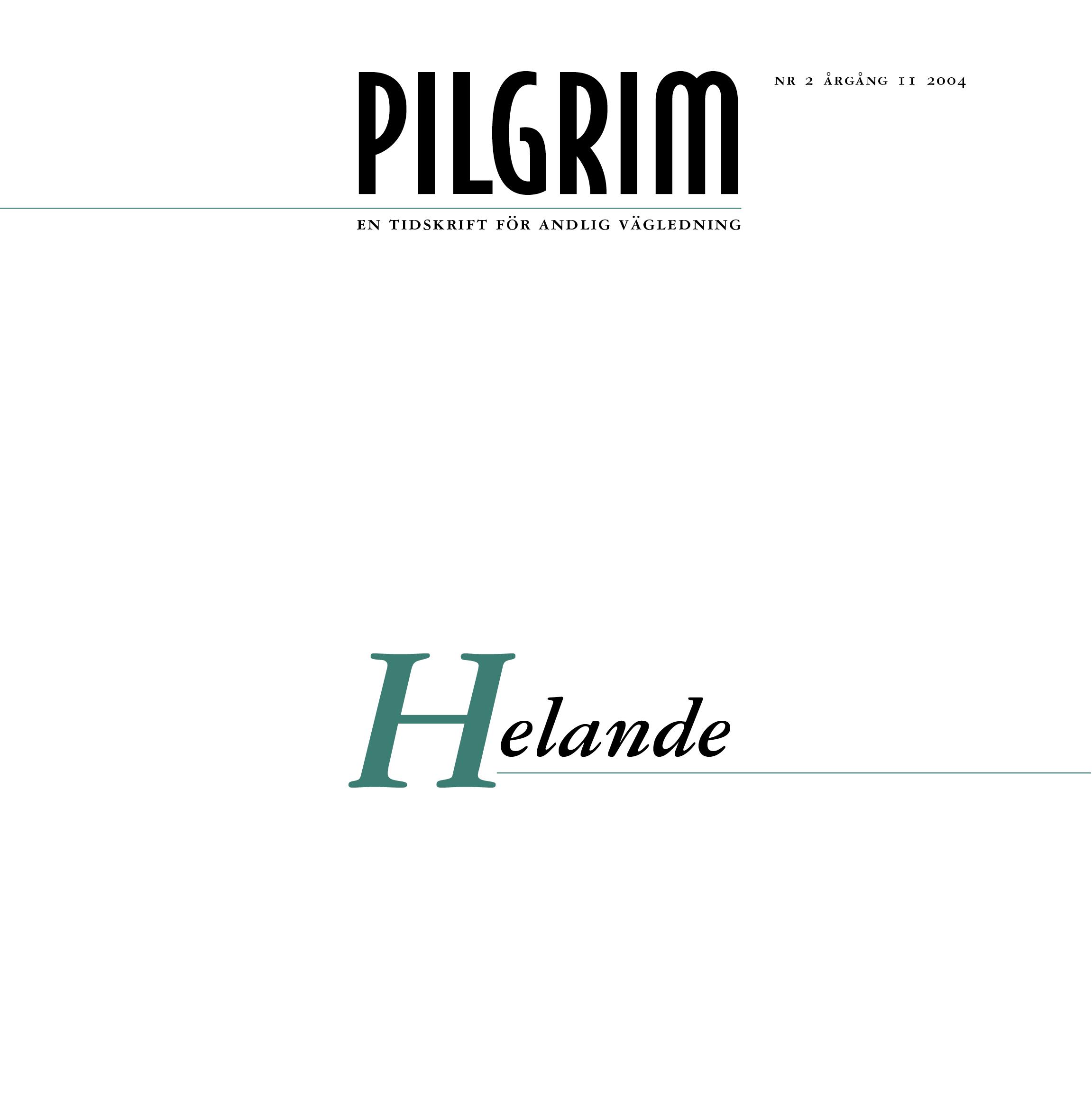 Pilgrim frams 2004-2