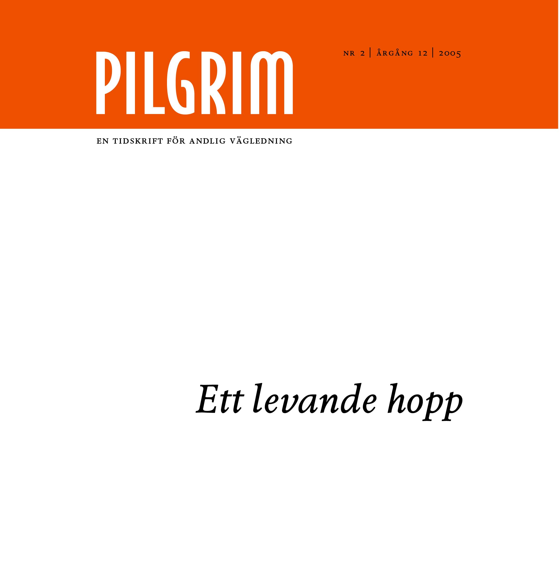 Pilgrim frams 2005-2