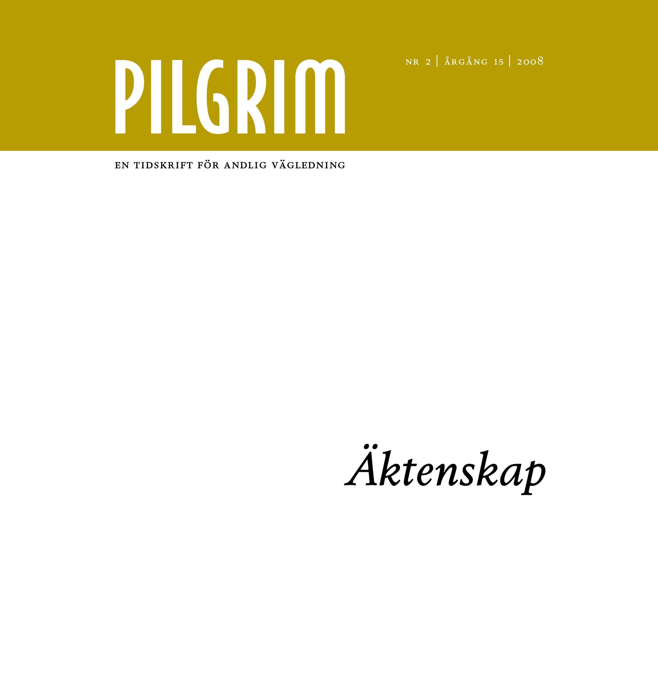 Pilgrim frams 2008-2