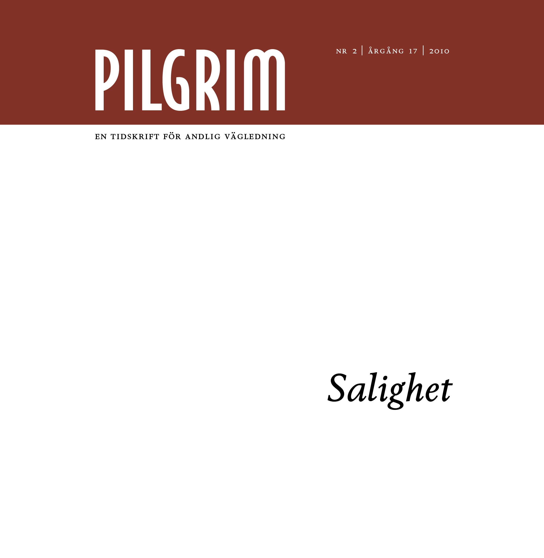 Pilgrim frams 2010-2