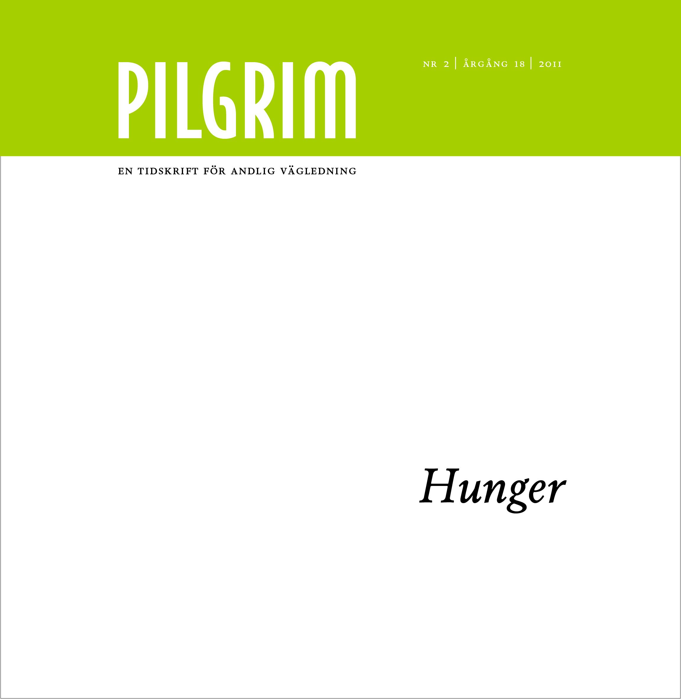 Pilgrim frams 2011-2