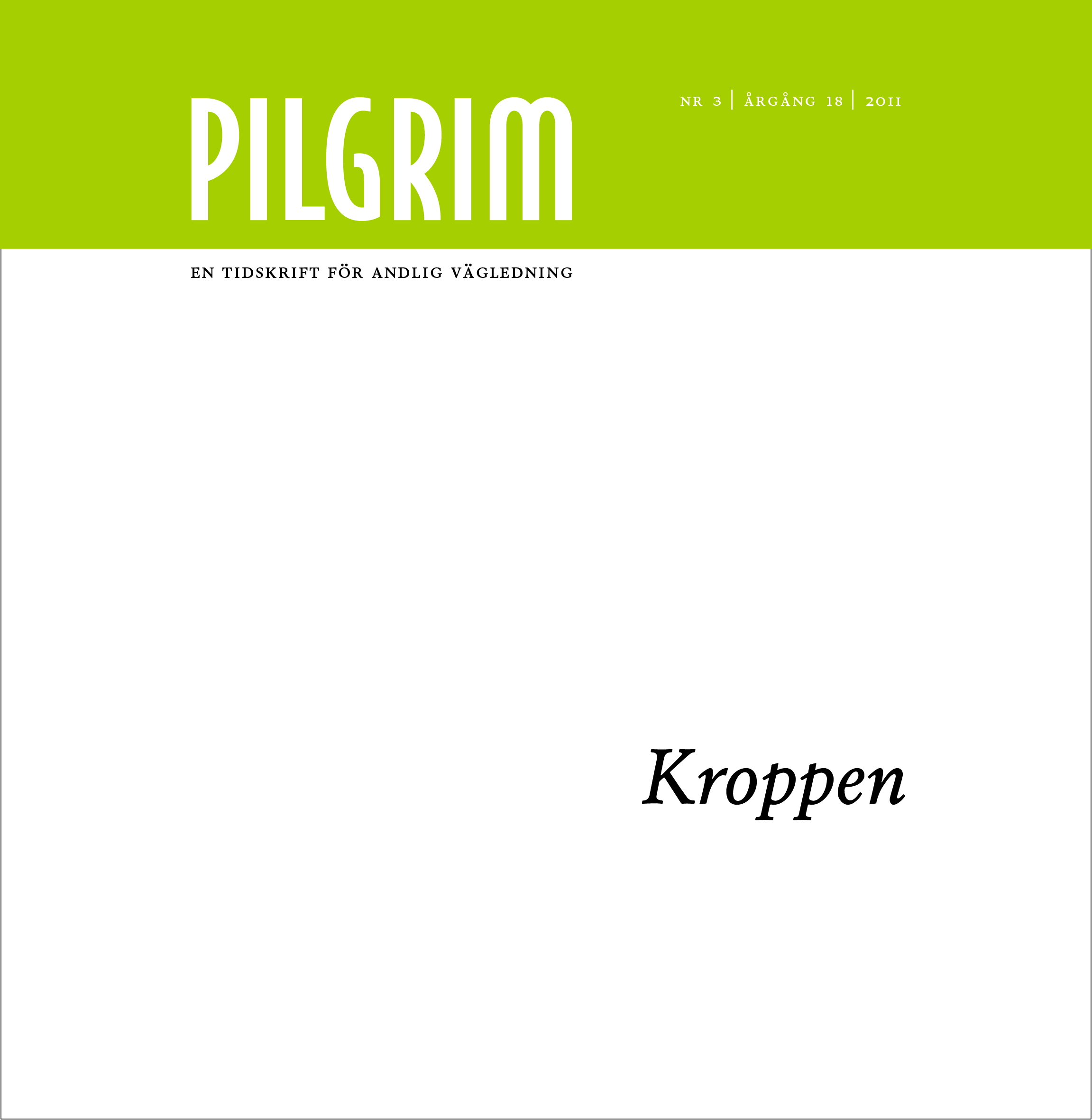 Pilgrim frams 2011-3