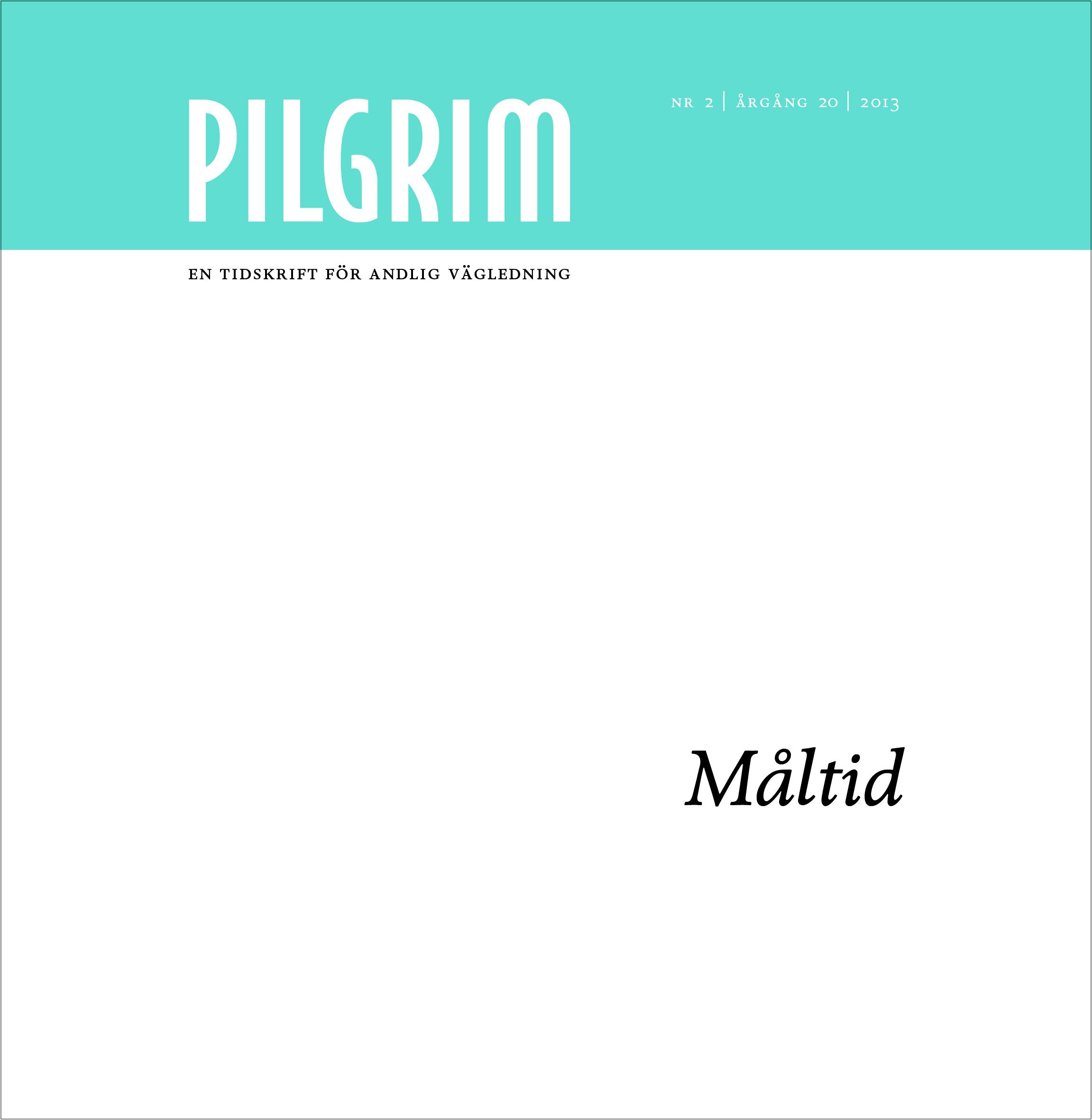 Pilgrim frams 2013-2